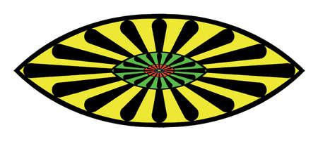 kumpel: sigle logo fraktale IV Illustration