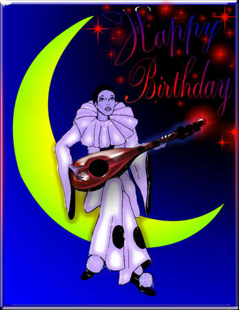 pierrot: Pierrot Happy Birthday
