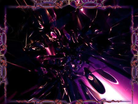 Purple psychadelic New Art