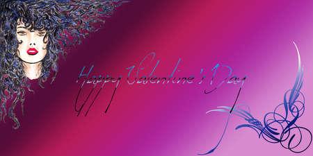 mythologie: Happy Valentine s Day Brown Woman