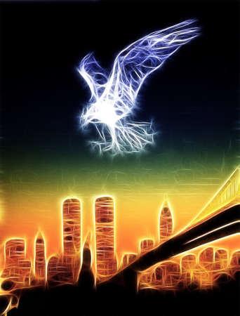 mythologie: New York Eagle