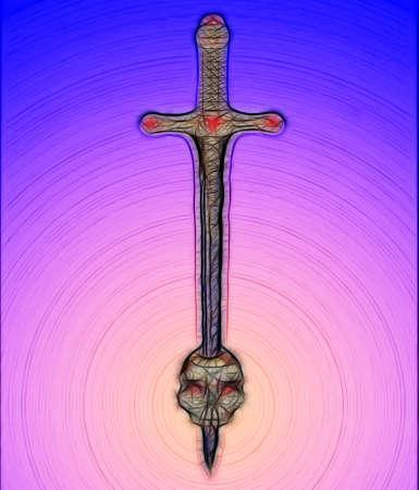 mythologie: Skull and Sword F
