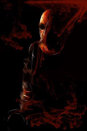 Blood Saxophone Man