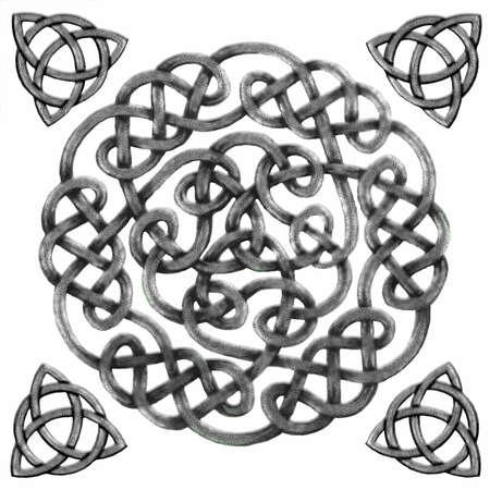 Celtic Mandala I Illustration