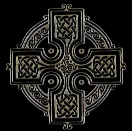 celtico: Croce Celtica Vettoriali