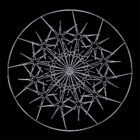 Mandala IV Illustration