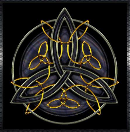 Celtic Mandala IX