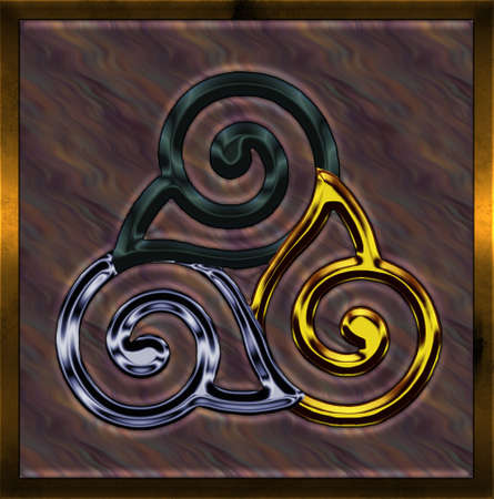 triskel: Celtic Cross III Illustration