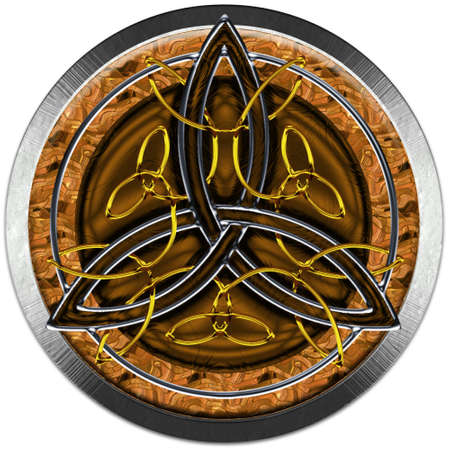 keltisch: Celtic Cross Voll Metals III
