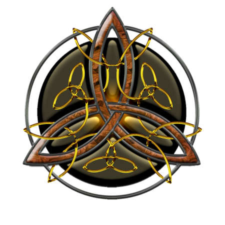 triskel: Celtic Cross V Illustration