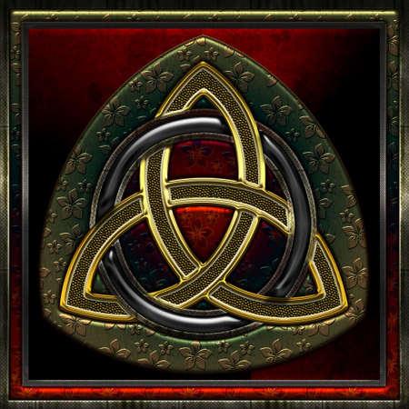 triskel: Celtic Triskel VII Illustration