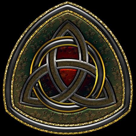 triskel: Celtic Triskel VIII Illustration