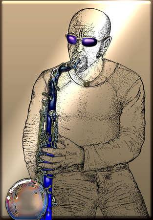 entered: Blue Sax