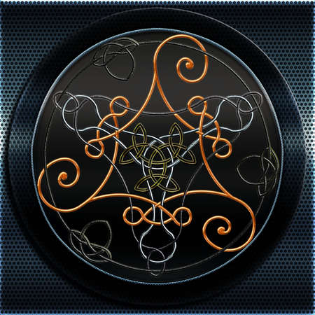 Full Metal Celtic Triskel