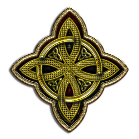 Celtic Cross 4 points IV bis