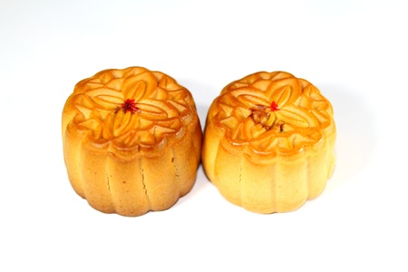 mid autumn: moon cake for chinese mid autumn festival  Stock Photo