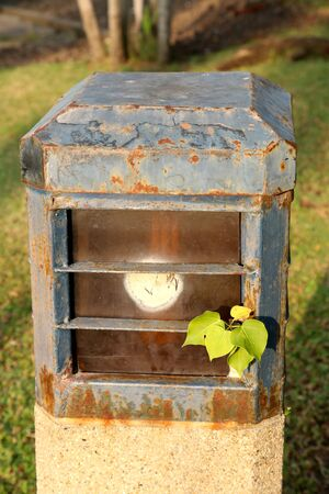garden lamp: garden lamp
