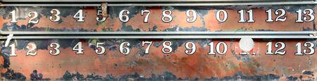 score board: Petanque score board