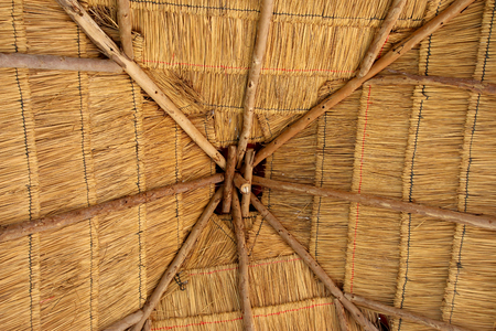 thatched cottage: Roof thatched cottage