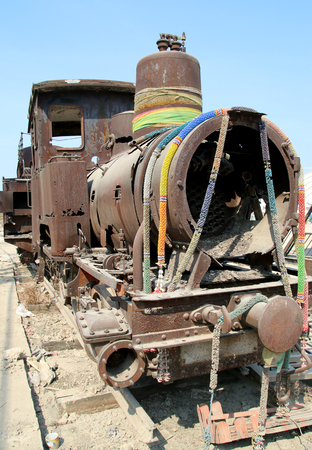 decay stream train  photo