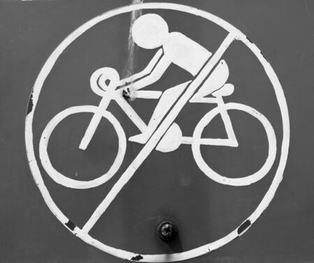 no cycling  photo