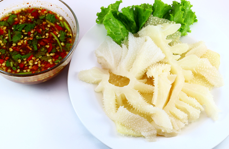 parsley digestion: ox tripe