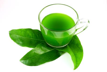 neutralizować: Sok z zielonych liści Zdjęcie Seryjne