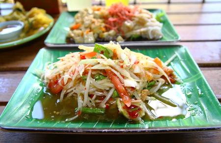 somtum: Somtum is Thai style of salad