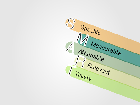 objectives: smart objective goal Illustration