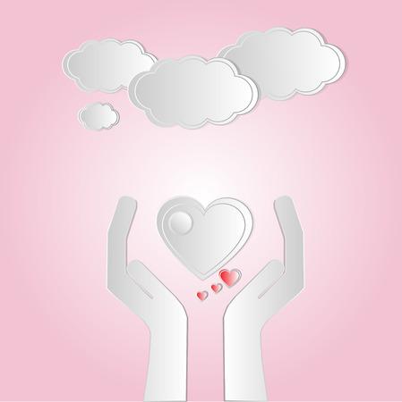 recibo: Manos con el corazón, el amor