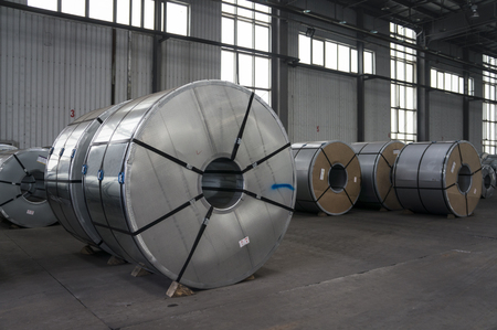 annealed: Slitted Coils Stored for manufacturing