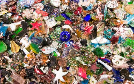 Stapel van kleurrijke accessorys