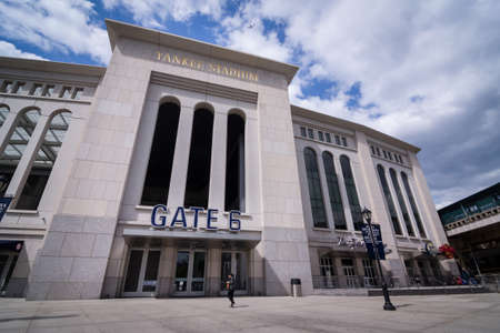 yankee: Shot of outside of Yankee Stadium
