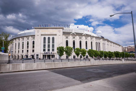 Shot of outside of Yankee Stadium
