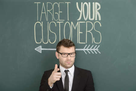 Target your customers Stock Photo - 23565883