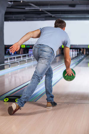 attempts: Bowling. Bowler attempts to take out remaining pins