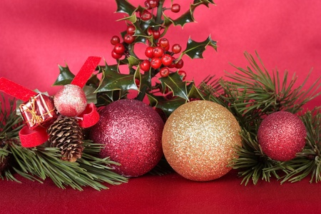 Christmas decorations closeup Stock Photo - 8372165