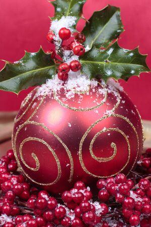 Christmas decorations closeup Stock Photo - 9573952
