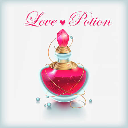 illustration of Love Potion Stock Vector - 12835385
