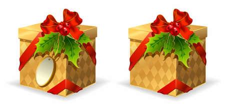 Vector Christmas gift Stock Vector - 12943005