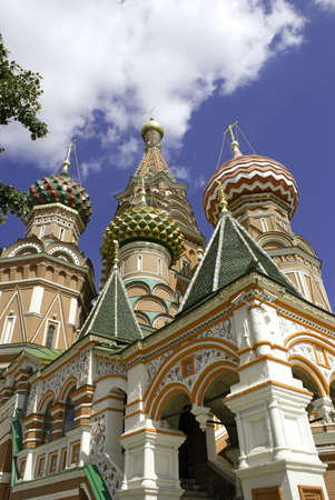 st basil s cathedral: St Basil s Cathedral, Moscow at daytime