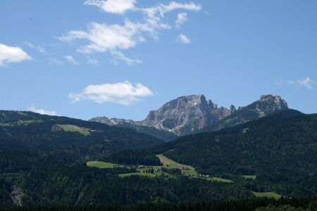 Austrian Alps Mountain