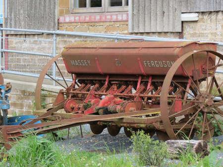 old farm: old farm plough
