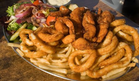 Seafood Platter Stock Photo - 2856497