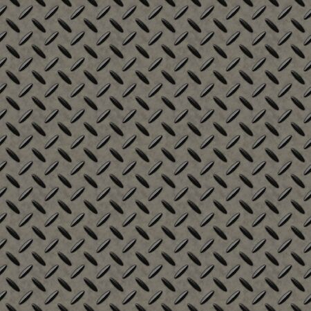 treadplate: Checkerplate metal background which will tile seamlessly