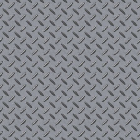 tread plate: Checkerplate metal background which will tile seamlessly