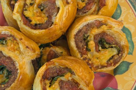 mincing: Freshly Baked Savoury Pastries