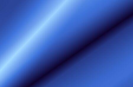 sheen: Illustration of folds of blue satin Stock Photo