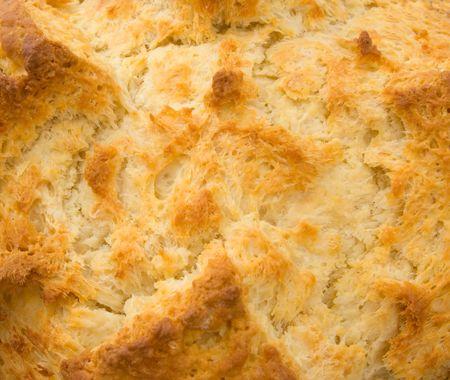 damper: Delicious freshly baked Australian Damper Loaf close up