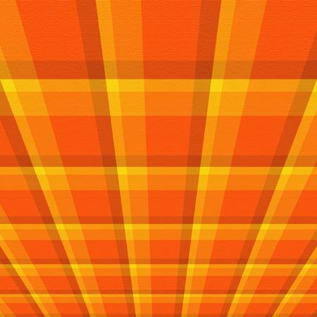 Bright orange perspective background.
